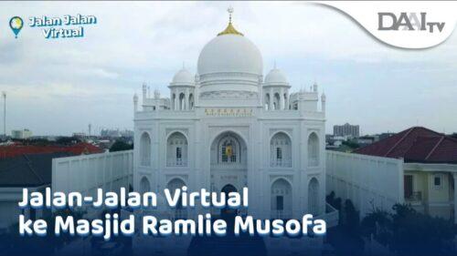 Tim Jalan-Jalan Virtual akan ajak kamu melihat masjid yang mengingatkan kita kepada bangunan tujuh keajaiban dunia ini.