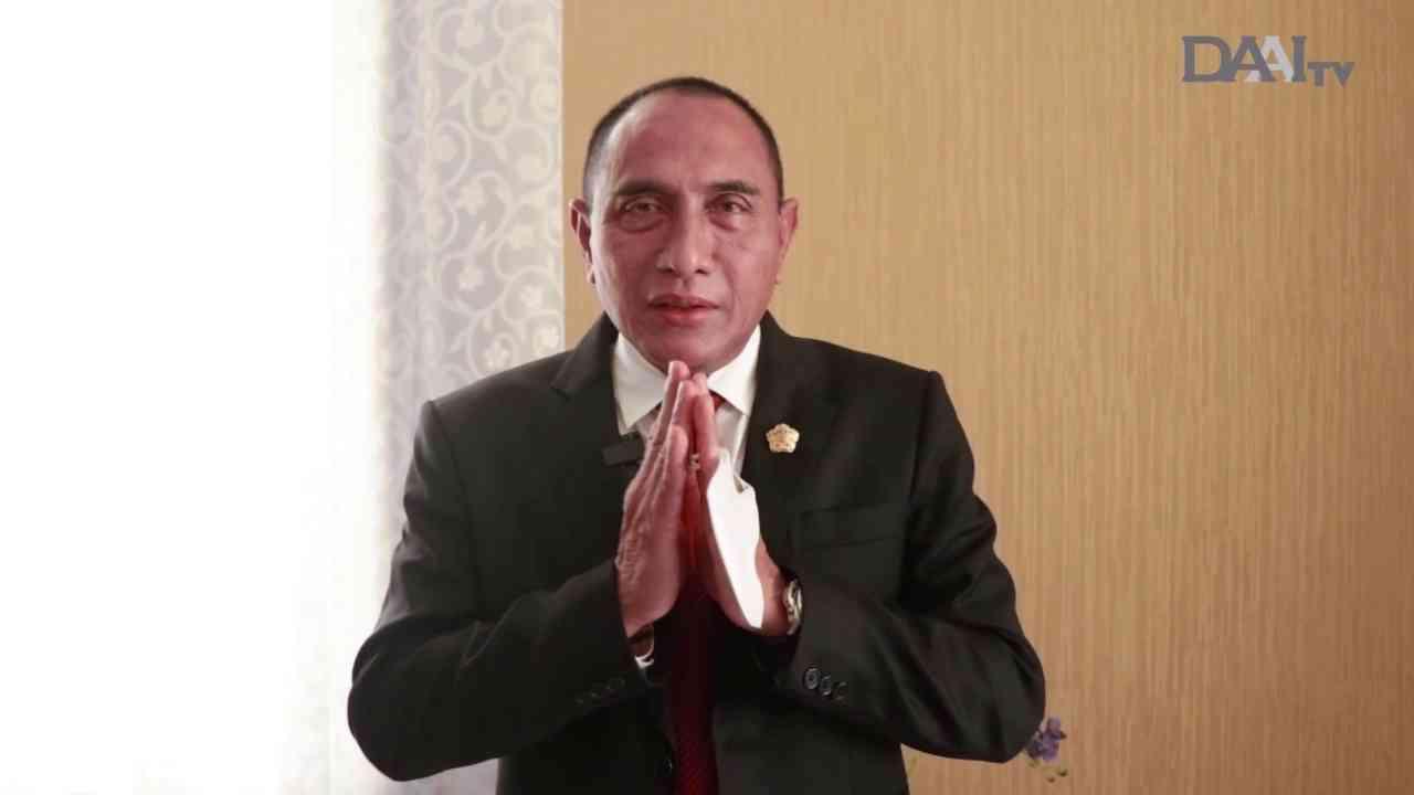 Sambut Hut Kota Medan Ke-431, Gubernur Sumatera Utara, Edy Rahmayadi berharap agar Medan menjadi kota yang barokah. Diberkahi kesehatan, kesejahteraan, keamanan, dan kerukunan.